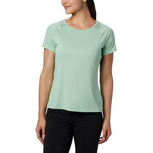 Columbia Peak To Point II Kurzarm T-Shirt Damen new mint heather new mint heather