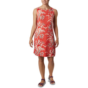Columbia Chill River Printed Kleid Damen bright poppy/print bright poppy/print
