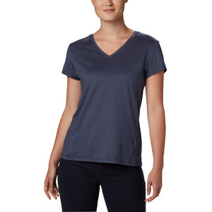 Columbia Bryce Kurzarm T-Shirt Damen nocturnal heather nocturnal heather