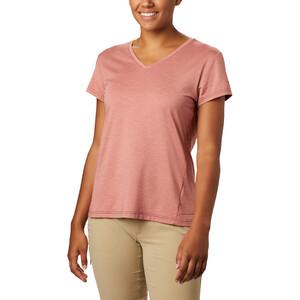 Columbia Bryce Kurzarm T-Shirt Damen dark coral heather dark coral heather