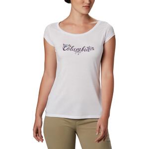 Columbia Shady Grove Kurzarm T-Shirt Damen white/fun performance white/fun performance