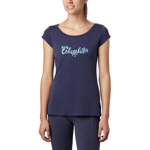 Columbia Shady Grove Kurzarm T-Shirt Damen nocturnal/fun performance nocturnal/fun performance