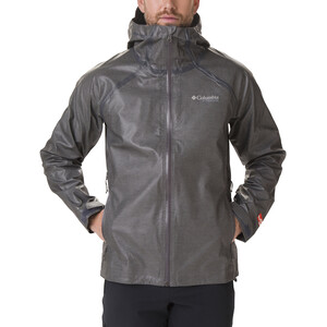 Columbia OutDry Ex Reign Jacke Herren charcoal heather charcoal heather