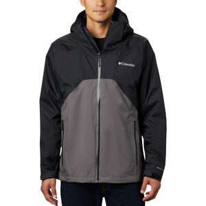 Columbia Rain Scape Jacke Herren black/city grey/black zips black/city grey/black zips