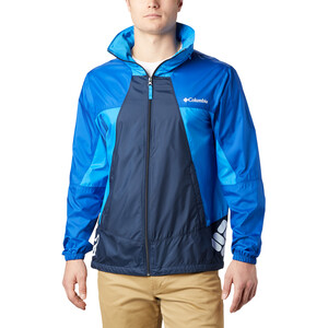 Columbia Point Park Windbreaker Jacke Herren collegiate navy/azul/azure blue collegiate navy/azul/azure blue