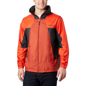 Columbia Point Park Windbreaker Jacke Herren carnelian red/wildfire/shark carnelian red/wildfire/shark