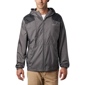 Columbia Flashback Windbreaker Jacke Herren city grey/black city grey/black