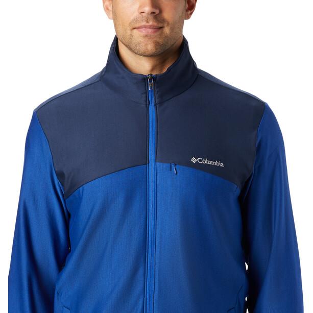 Columbia Maxtrail Fleece Midlayer Herren azul/collegiate navy