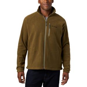 Columbia Fast Trek II Täysvetoketjullinen Fleece-takki Miehet, new olive/sage zip new olive/sage zip