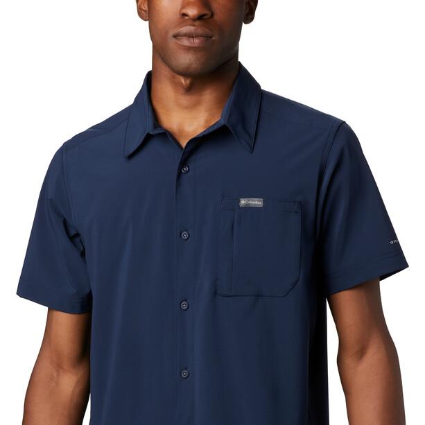 Columbia Triple Canyon Solid T shirt Homme, bleu