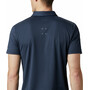 Columbia Triple Canyon Tech Poloshirt Heren, blauw