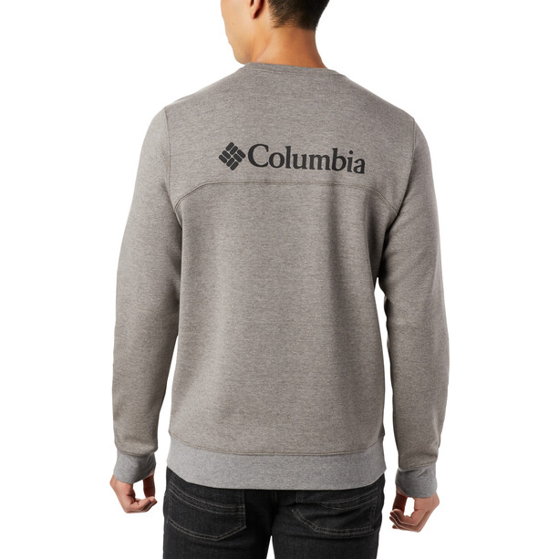 Columbia Lodge DBL Strick-Sweatshirt Herren charcoal heather/black