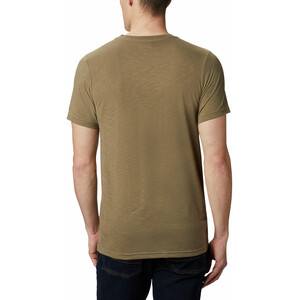 Columbia Nelson Point Graphic Kurzarm T-Shirt Herren sage sage