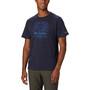 Columbia Bluff Mesa Graphic T-paita Miehet, sininen