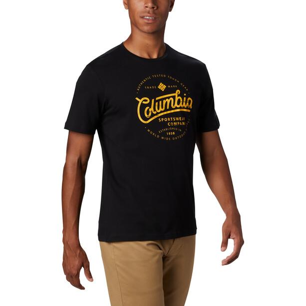 Columbia Path Lake Graphic T-Shirt Herren black round bound
