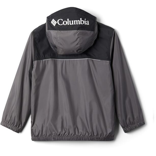 Columbia Bloomingport Windbreaker Jacke Kinder city grey/black