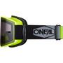O'Neal B-20 Brille Plain neon yellow/black-gray