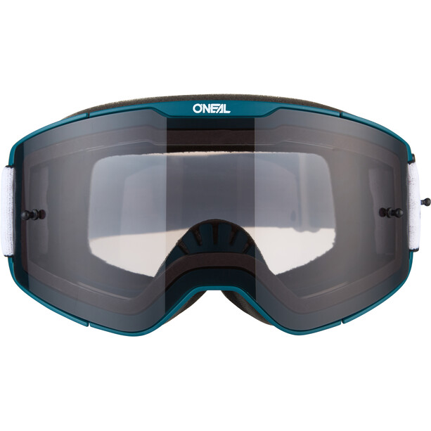 O'Neal B-20 Brille Plain teal/red-gray