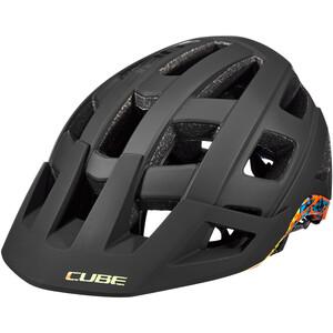 Cube Badger Helm black/splash black/splash