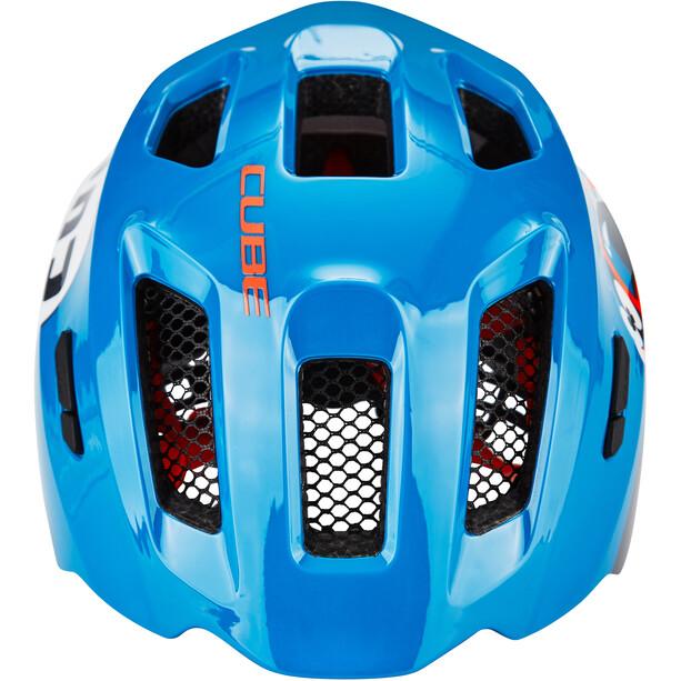 Cube Fink Helm Kinder blue