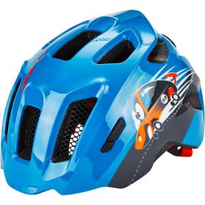 Cube Fink Helm Kinder blue blue