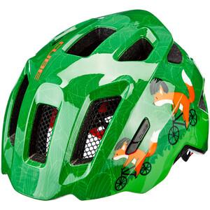 Cube Fink Helm Kinder green green