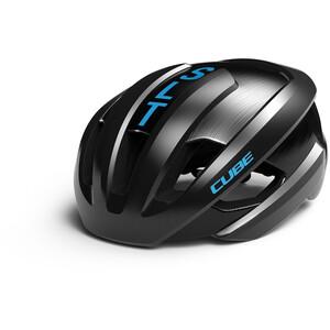Cube  Heron SLT ヘルメット ブラック/ブルー ※当店通常価格\28900(税込)