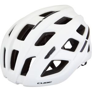 Cube Roadrace Helm weiß weiß