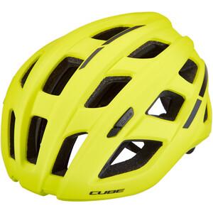 Cube Roadrace Helm gelb gelb