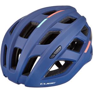 Cube  Road Race Teamline ヘルメット ブルー/ミント