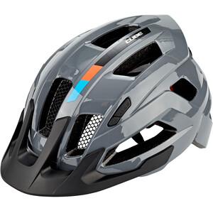 Cube  Steep X アクションチーム ヘルメット グレー/オレンジ