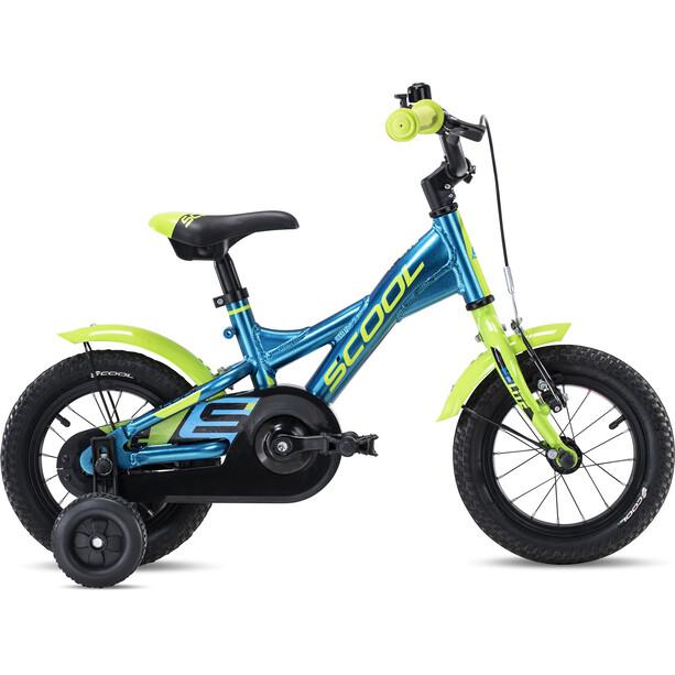 s'cool XXlite alloy 12 Kinder blue/lemon metalic