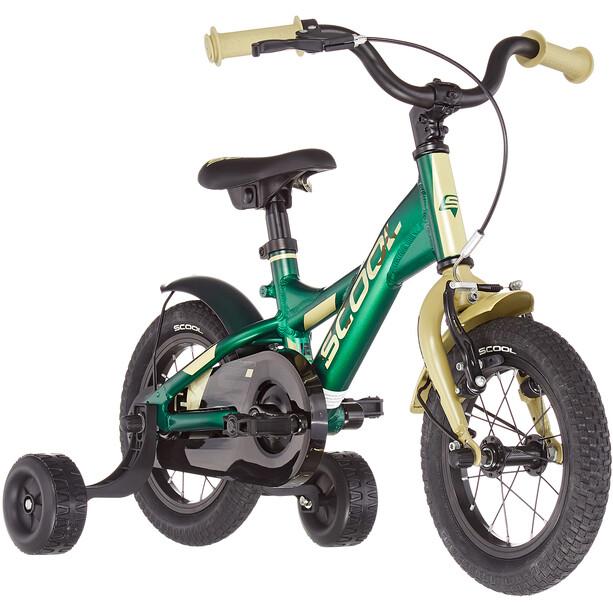 s'cool XXlite alloy 12 Enfant, oliv/camouflage matt