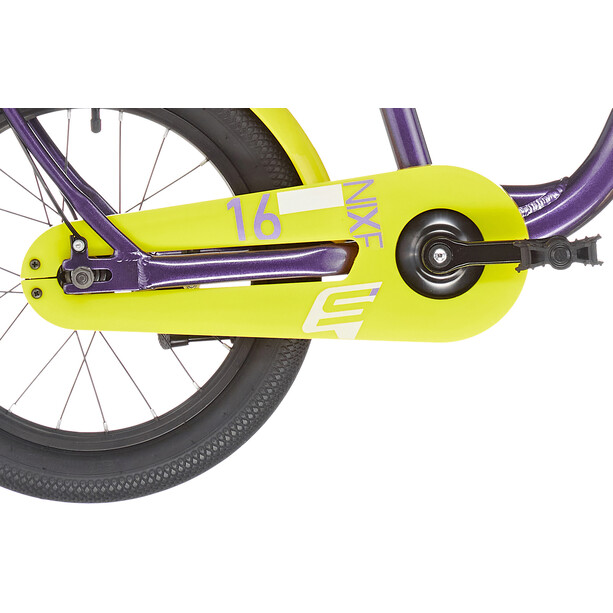 s'cool niXe alloy 16 Kinder purple metalic /yellow
