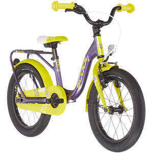 s'cool niXe alloy 16 Kinder lila/gelb lila/gelb