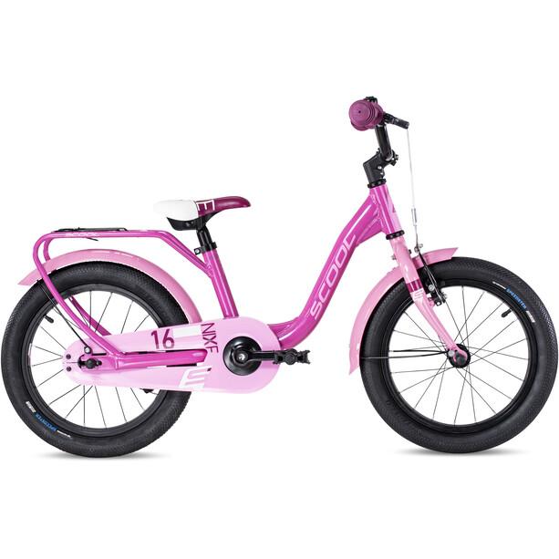 s'cool niXe alloy 16 Kinder pink/lightpink
