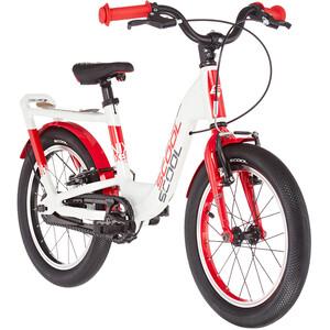 s'cool niXe EVO 16 Freilauf Kinder pearlwhite/red pearlwhite/red