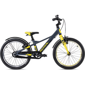 s'cool XXlite EVO 18 Freilauf Kinder grau/gelb grau/gelb