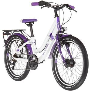 s'cool chiX twin alloy 20 7-S Barn vit/violett vit/violett