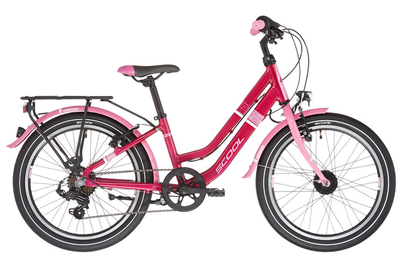 scool chiX twin alloy 20 7-S Barn pink/pink 20