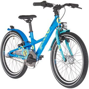 s'cool XXlite alloy 20 3-S Kinder blau blau