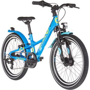 s'cool XXlite alloy 20 7-S Kinder blau blau