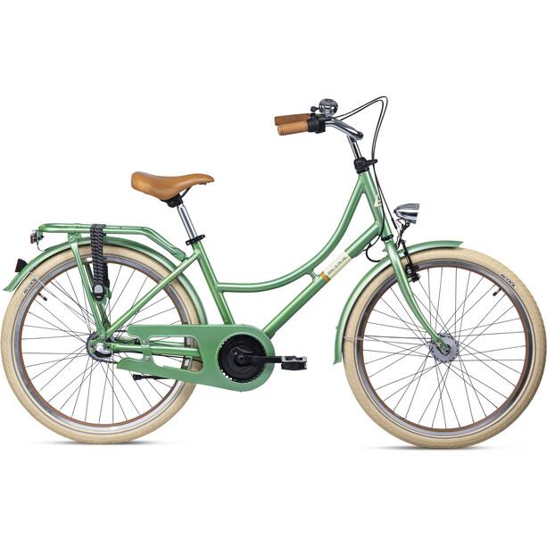 s'cool chiX classic 24 3-S Kinder flowergreen