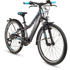 s'cool E-troX Bafang 24 7-S Kinder darkgrey matt darkgrey matt