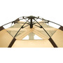 CAMPZ Hexa High OT XW Zelt 3P beige/grau