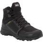 Jack Wolfskin Trail Invader Shield Mid-Cut Schuhe Damen black/black