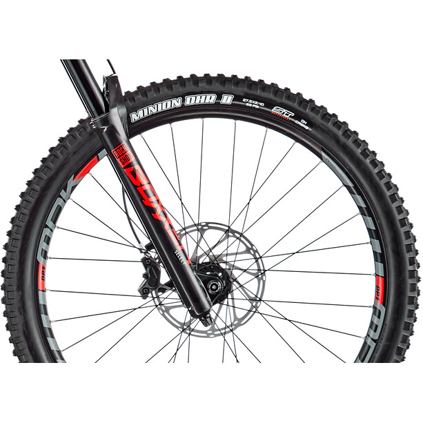 "Mondraker Summum 27.5"" white/flame red/black"