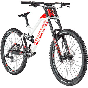 "Mondraker Summum 27.5"" white/flame red/black white/flame red/black"