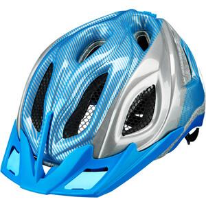 KED Certus K-Star Casco, azul/Plateado azul/Plateado
