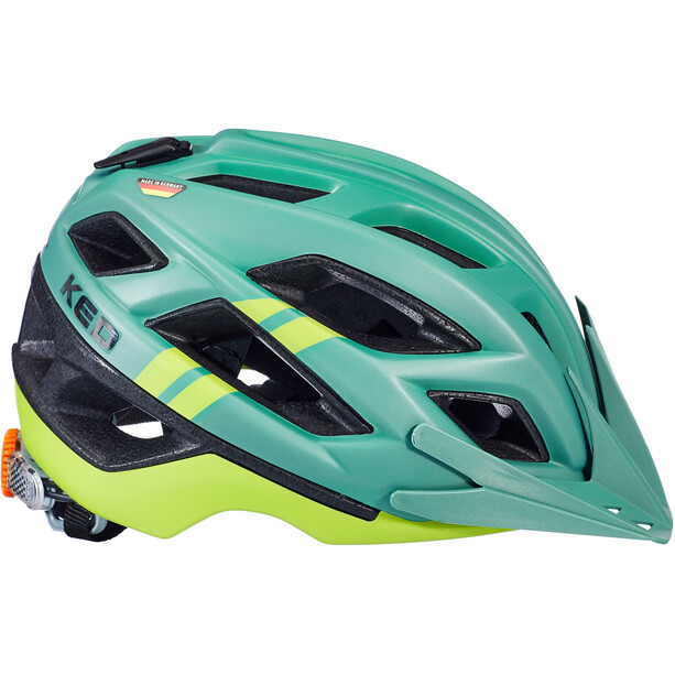 KED Companion Helm olive/yellow matte